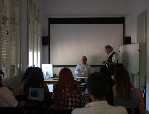 André Logie analiza los proyectos final de máster